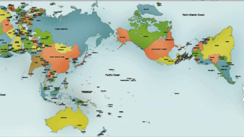 Karte Kontinente Welt.So Gross Sind Die Kontinente Ohne Verzerrungen Wirklich Die