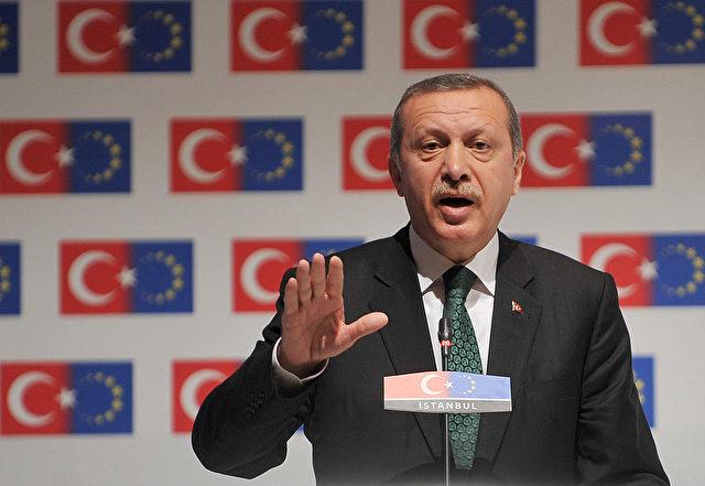 Der türkische Präsident Recep Tayyip Erdogan. Foto: STRINGER/AFP/Getty Images