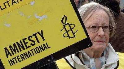 """""""Tiefsitzender Menschenhass"""": Amnesty International nach Enthüllungen über Arbeitsklima in der Kritik"""