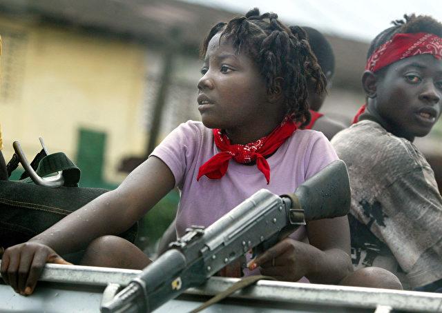 Kindersoldaten Foto: Chris Hondros/Getty Images