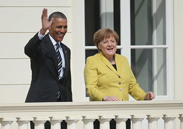 Kanzlerin Angela Merkel und der scheidende US-Präsident Barack Obama. Foto: Sean Gallup/Getty Images