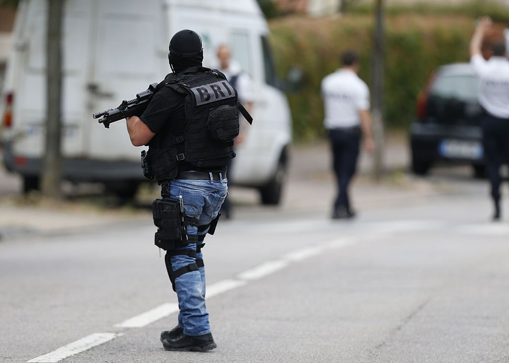 Ermittlerkreise: Vier Festnahmen bei Antiterror-Einsatz in Straßburg