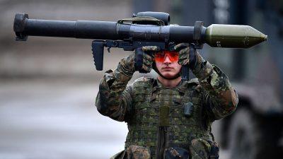 """Schäuble will ab 2022 europäische Armee: """"Deutsche wären dafür zu haben"""""""