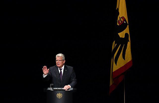 Bundespräsident Joachim Gauck. Foto: JOHN MACDOUGALL/AFP/Getty Images