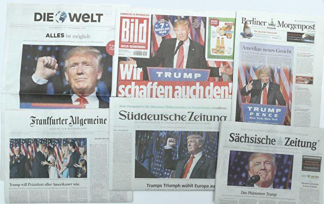 Presseschau Trump sean Gallup Getty