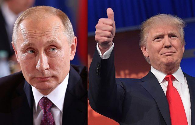 Wladimir Putin Donald Trump Getty Adam Berry und Mandel Ngan AFP Getty