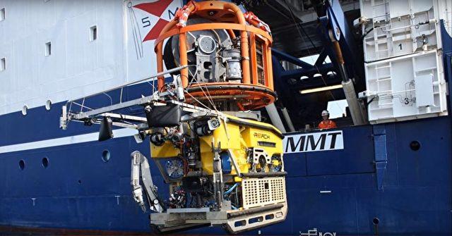 Tauchroboter wie dieser liefern die hochauflösenden Fotos aus denen die Renderings entstehen Foto: Screenshot/youtube