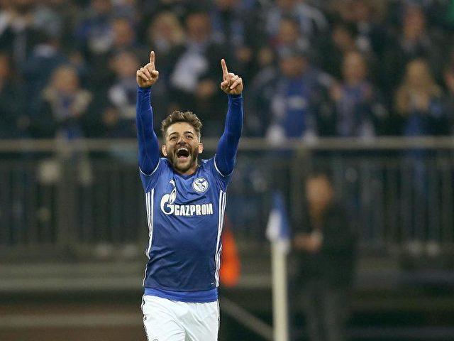 Junior Caicara traf zum 1:0 für den FC Schalke 04. Foto: Ina Fassbender/dpa