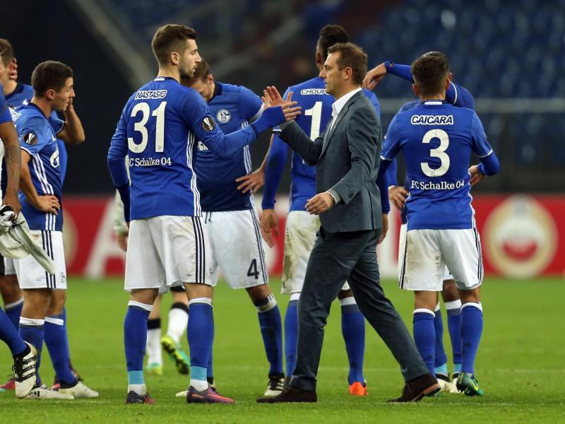 Im Eiltempo durch Europa – Schalke auf Bundesliga fokussiert