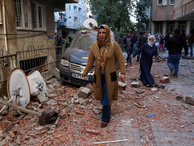Terrrormiliz IS bekennt sich zu Anschlag in türkischer Kurden-Stadt Diyarbakir