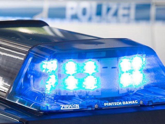 Das Blaulicht eines Polizeiwagens. Foto: Friso Gentsch/Archiv/dpa