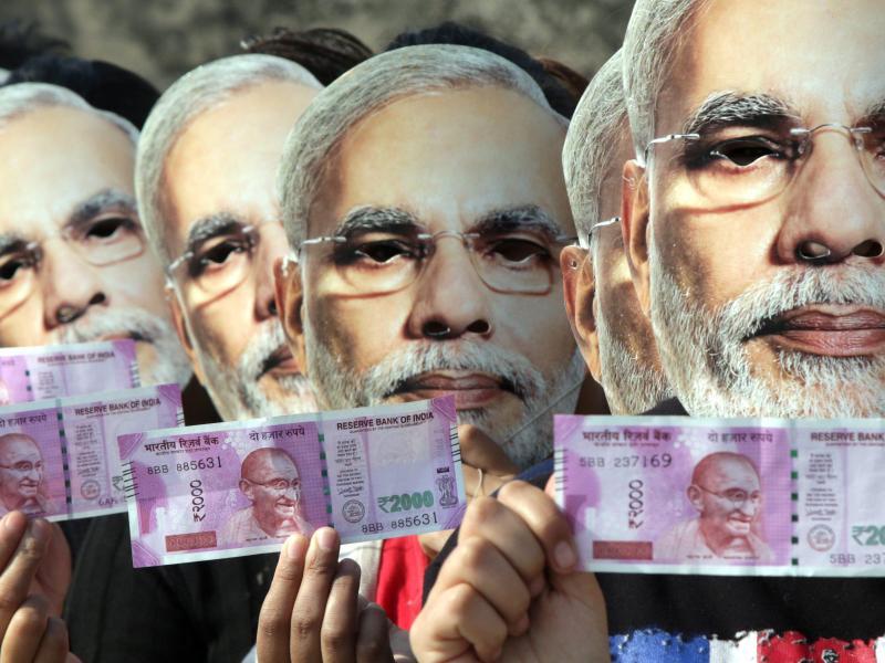Indisches Wirtschaftswachstum erleidet Dämpfer durch Rupien-Tausch
