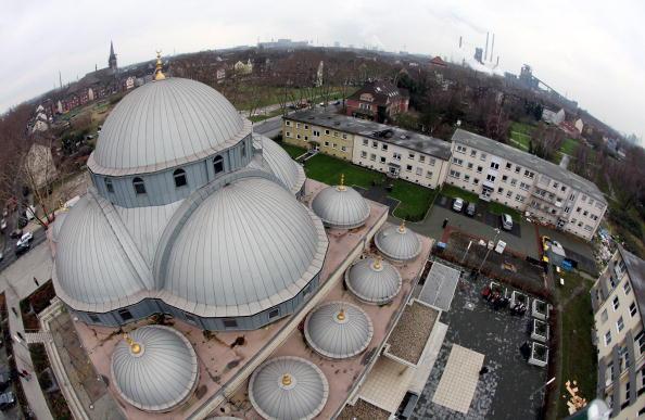 DITIB-Merkez Moschee in Duisburg. Foto: Friedemann Vogel/Getty Images