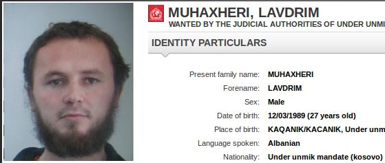 """Auch Interpol sucht Lavdrim Muhaxheri, einen führenden General des """"Islamischen Staates"""", von dem befürchtet wird, das er als Flüchtling getarnt nach Europa gekommen ist. Foto: screenshot/epochtimes"""