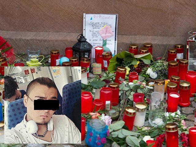 Eine junge Medizinstudentin aus Freiburg wurde Mitte Oktober am Fluss Dreisam in Freiburg missbraucht und getötet. Links unten: Der Täter Hussein K.. Foto: Patrick Seeger/Archiv/dpa