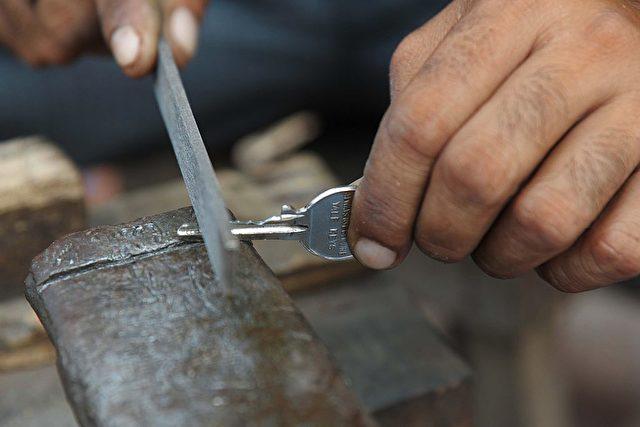 Schlüsselmacher (Symbolbild) Foto: NARINDER NANU/AFP/Getty Images