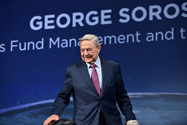 George Soros am 20. September 2016 in New York City. Foto: Getty Images