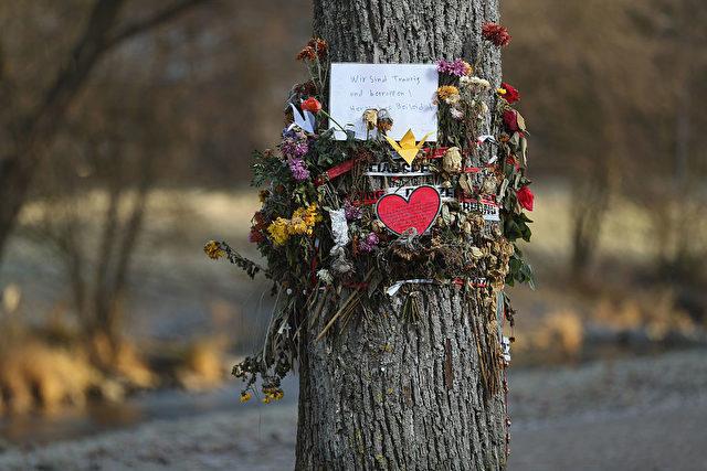 Gedenken an Maria L.. 8. Dezember Freiburg im Breisgau. Foto: Getty Images