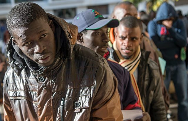 Migrantenkrise in Europa. Foto: FADEL SENNA/AFP/Getty Images