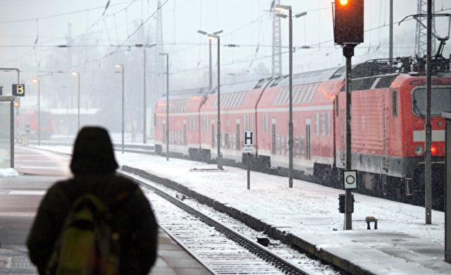Winter bei der Deutschen Bahn Foto: über dts Nachrichtenagentur