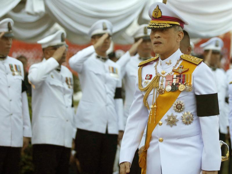 Neuer König von Thailand ruft Volk zur Einheit auf