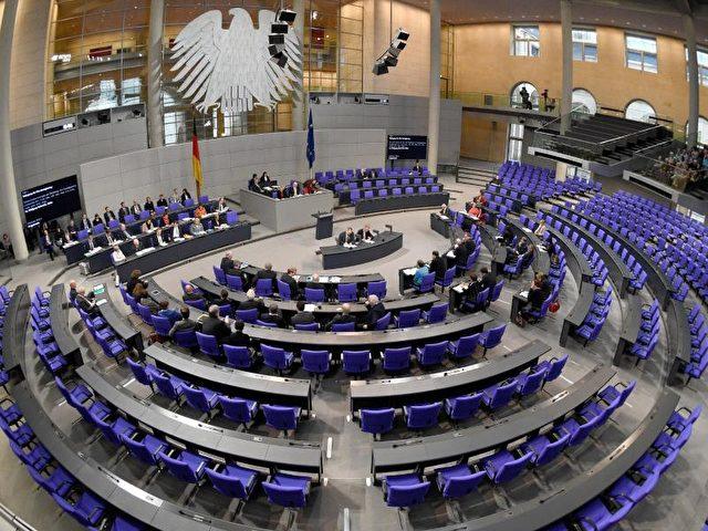 Bundestag. Foto: Rainer Jensen/dpa