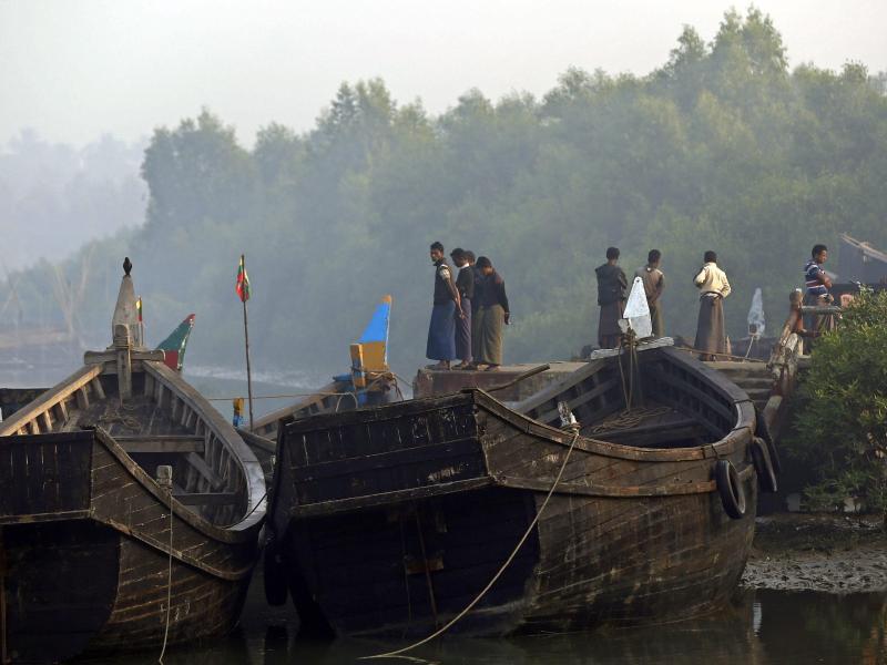 Sri Lankas Küstenwache greift Boot mit 30 Rohingya-Flüchtlingen auf