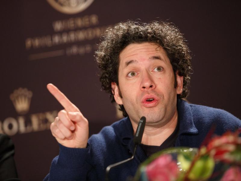 Wiener Neujahrskonzert: Gustavo Dudamel will beim Neujahrskonzert Spaß haben