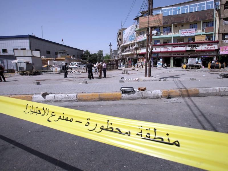 Mindestens 27 Tote bei Doppelanschlag auf belebtem Markt in Bagdad