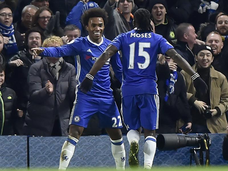 Chelsea baut Siegesserie aus – ManUnited gewinnt noch 2:1