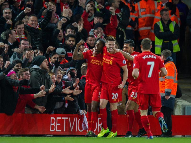 Liverpool gewinnt Spitzenspiel und behauptetRang zwei