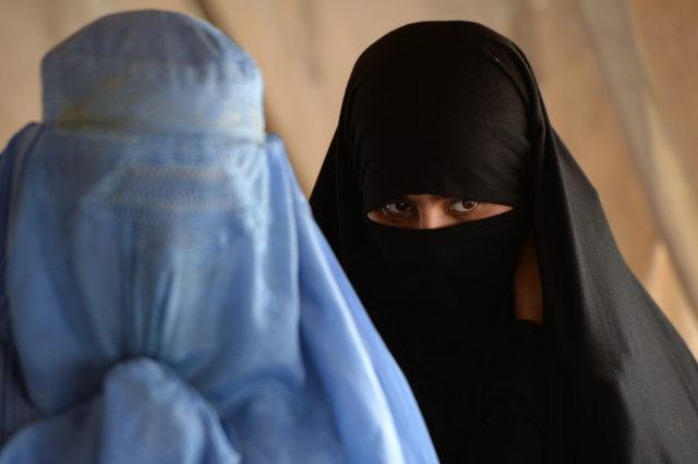 Burka-Trägerinnen Foto: SHAH MARAI/AFP/Getty Images