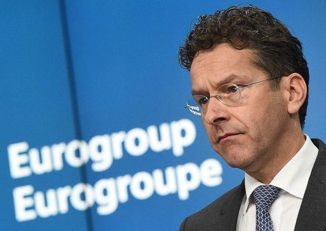 Eurogruppen-Chef Jeroen Dijsselbloem Foto: EMMANUEL DUNAND/AFP/Getty Images