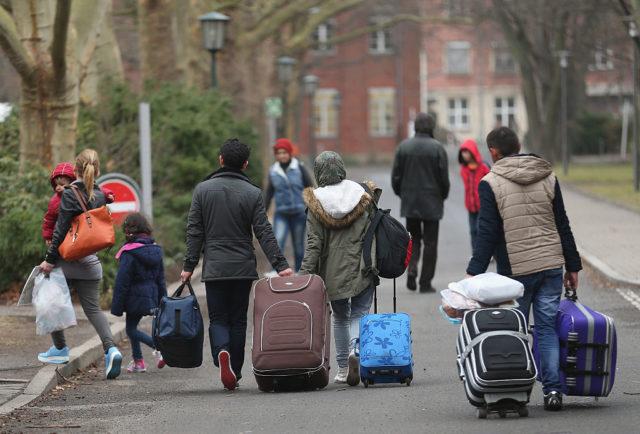 Flüchtlinge in Deutschland. (Symbolbild) Foto: Sean Gallup / Getty Images.