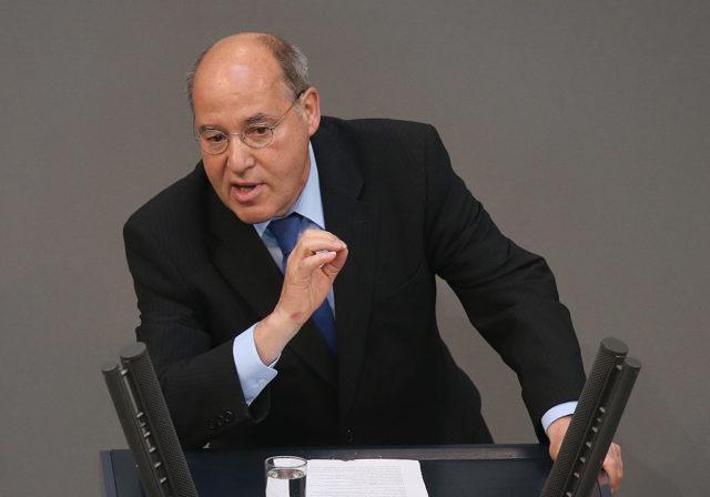 Der frühere Vorsitzende der Linksfraktion im Bundestag, Gregor Gysi Foto: Sean Gallup/Getty Images