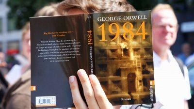 """Orwells """"1984"""" wieder Verkaufschlager – Sorge vor Facebook-Zensur"""