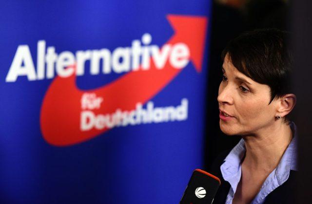Frauke Petry Foto: JOHN MACDOUGALL/AFP/Getty Images