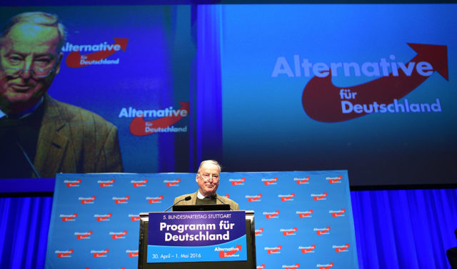 Alexander Gauland Foto: Thomas Lohnes/Getty Images