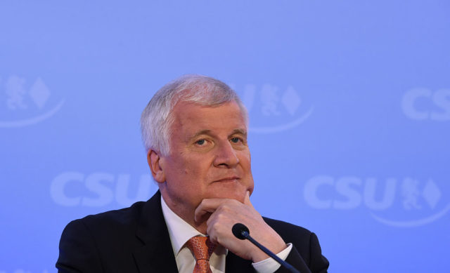 CSU-Chef Horst Seehofer Foto: Getty Images