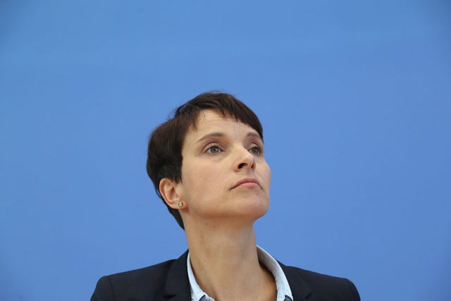 AfD-Chefin Frauke Petry Foto: Sean Gallup/Getty Images