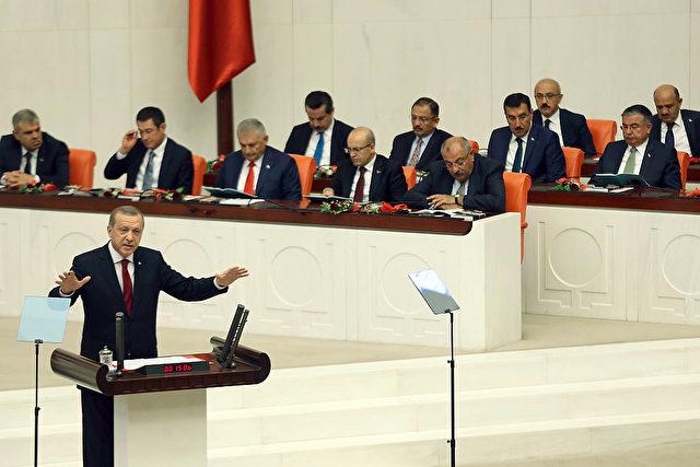 Schlägerei Türkisches Parlament