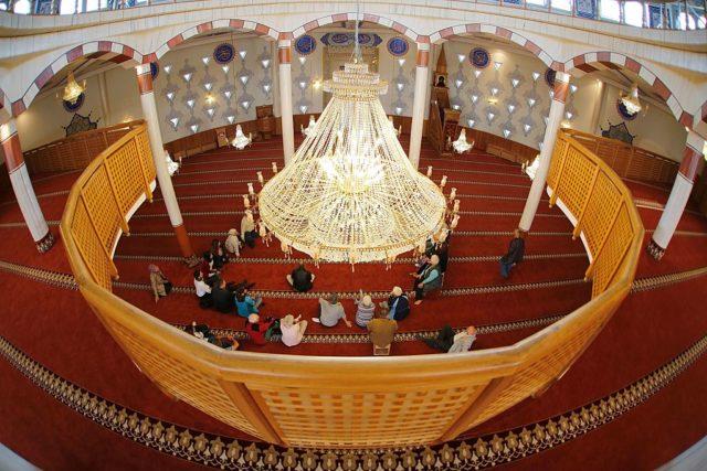 Moscheen-Besucher Foto: RONALD WITTEK/AFP/Getty Images