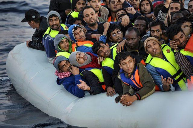 Flüchtlingskrise Foto: ANDREAS SOLARO/AFP/Getty Images
