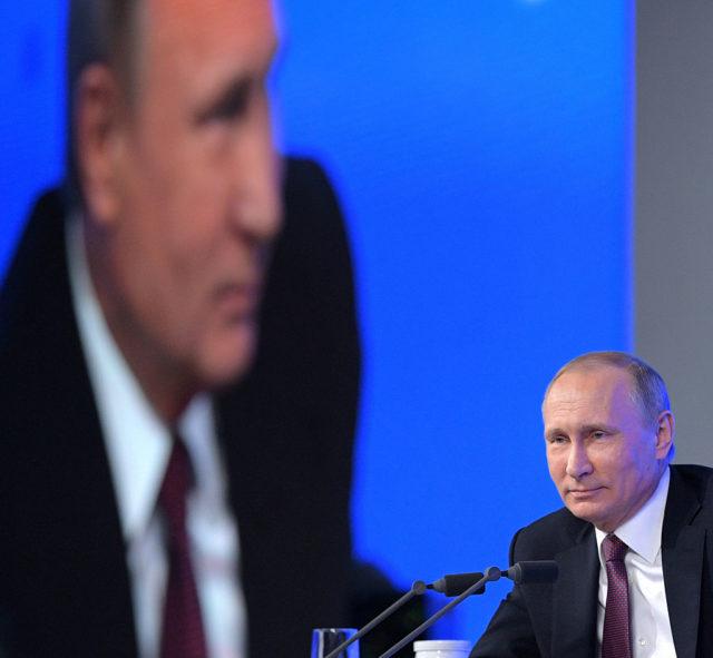 Russlands Staatschef Wladimir Putin. Foto: ALEXEI DRUZHININ/AFP/Getty Images
