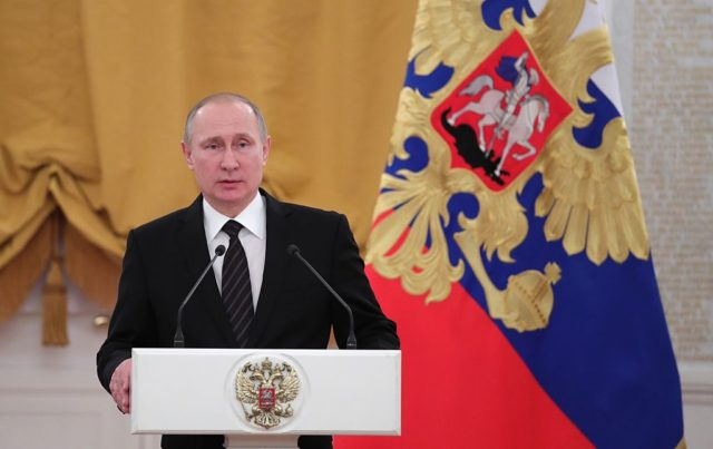 Russlands Staatschef Wladimir Putin. Foto: MICHAEL KLIMENTYEV/AFP/Getty Images
