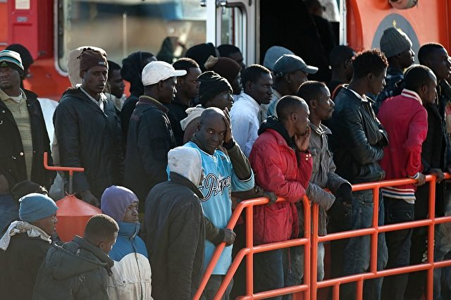 Migrantenkrise in Europa. Foto: JORGE GUERRERO/AFP/Getty Images