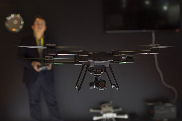 Drohne (Symbolbild) Foto: DAVID MCNEW/AFP/Getty Images