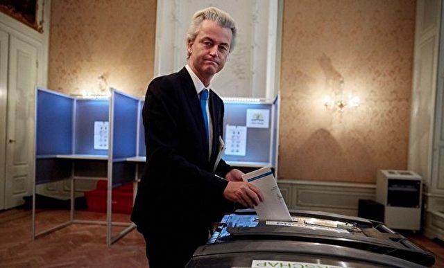 Der niederländische Politiker Geert Wilders Foto: Martijn Beekman/AFP/Getty Images