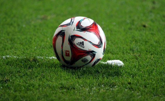 Fußball liegt vor Freistoßspray Foto: über dts Nachrichtenagentur