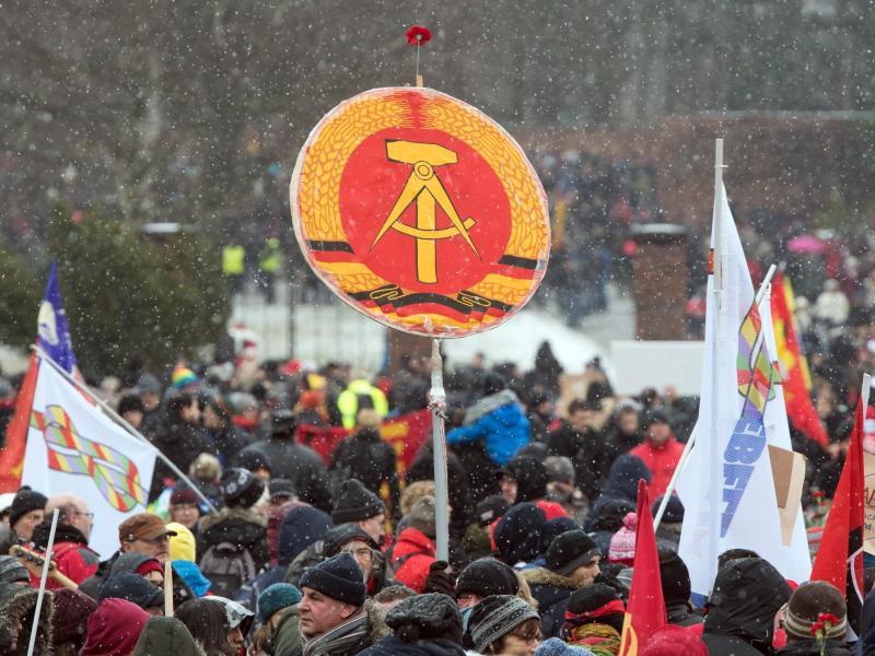 Die Massenverhaftungen am 17. Januar 1988 in Ostberlin waren der erste Nagel im Sarg der DDR